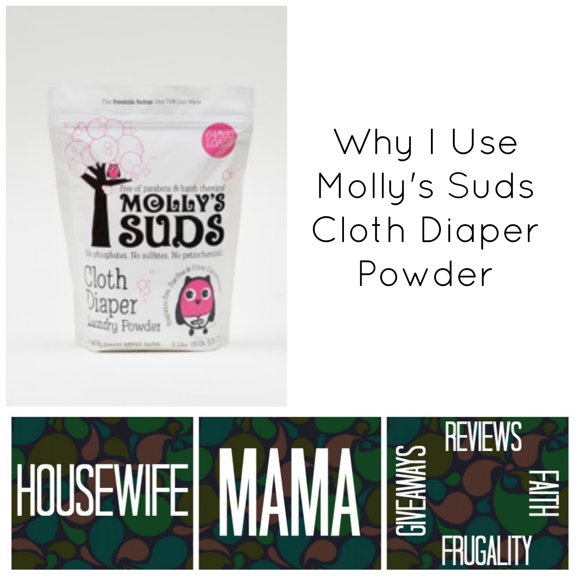 It's free of harsh chemicals, it cleans my diapers dependably and more... (plus a giveaway now through 2/7)
